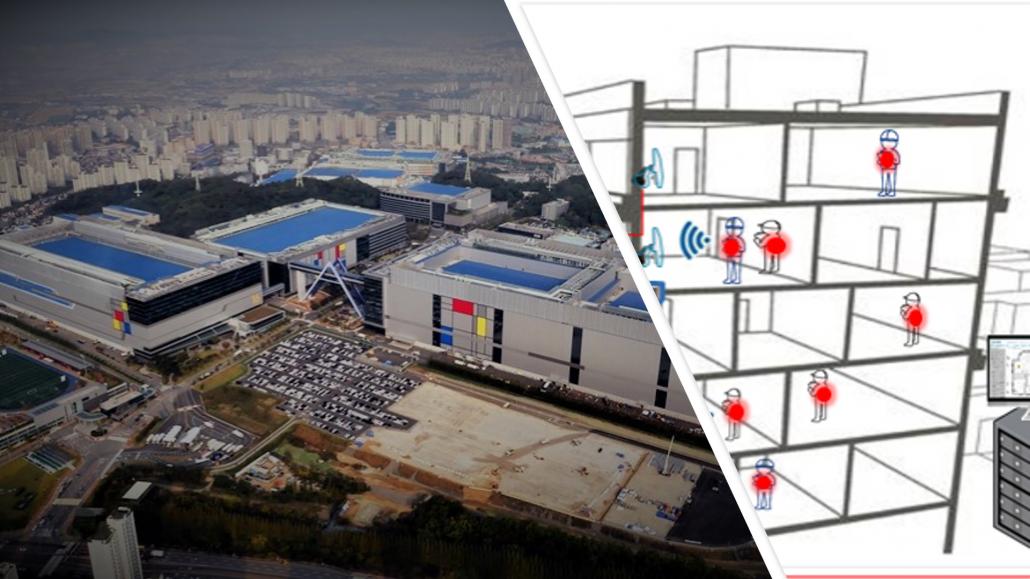 Samsung IoT construction pnt Korea BLE
